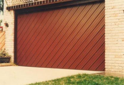 How to get a Timber Look Garage Door With a New Steel Door